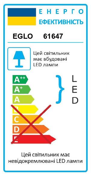 Светильник настенно-потолочный VASCELLO/PROFESSION EGLO 61647 - Фото №32
