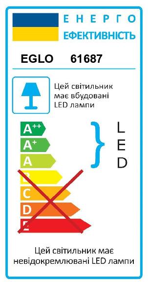 Светильник настенно-потолочный VASCELLO/PROFESSION EGLO 61687 - Фото №32