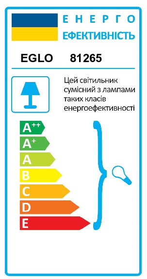 Настольная лампа FABIO EGLO 81265 - Фото №34