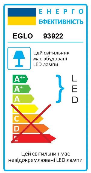 Світильник настінно-стельовий VERDESCA EGLO 93922 - Фото №31
