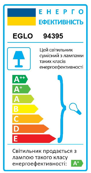 Настільна лампа TRAVALE EGLO 94395 - Фото №34