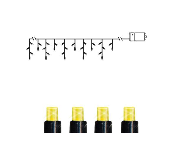 Гирлянда уличная LED на батарейках